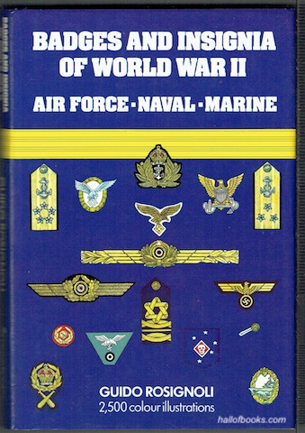 Image for Badges And Insignia Of World War II: Airforce, Naval, Marine