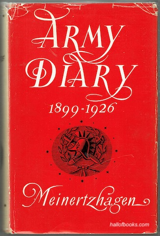 Image for Army Diary 1899-1926