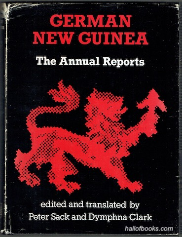 Image for German New Guinea: The Annual Reports