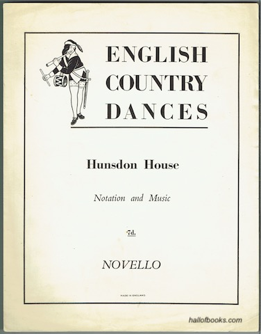 Image for English Country Dances: Hunsdon House. Notation And Music