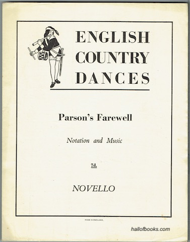 Image for English Country Dances: Parson's Farewell. Notation And Music