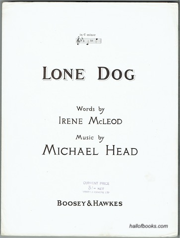 Image for Lone Dog (in C minor)