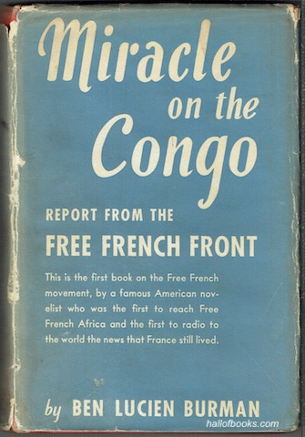 Image for Miracle On The Congo: Report From The Free French Front