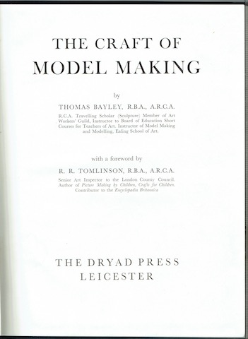 Image for The Craft Of Model Making