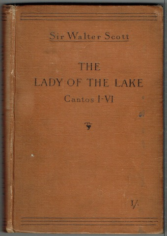 Image for The Lady Of The Lake Cantos I-VI.