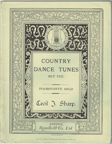 Image for Country Dance Tunes Set VIII: Pianoforte Solo