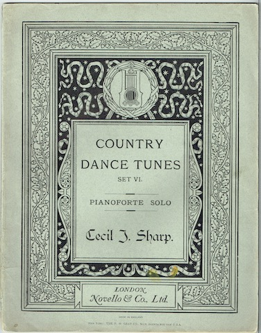 Image for Country Dance Tunes Set VI: Pianoforte Solo