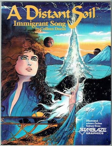 Image for A Distant Soil: Immigrant Song