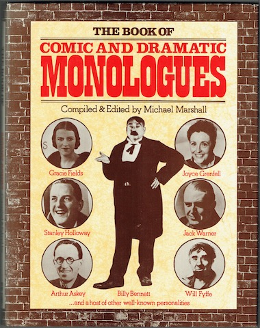 Image for The Book Of Comic And Dramatic Monologues
