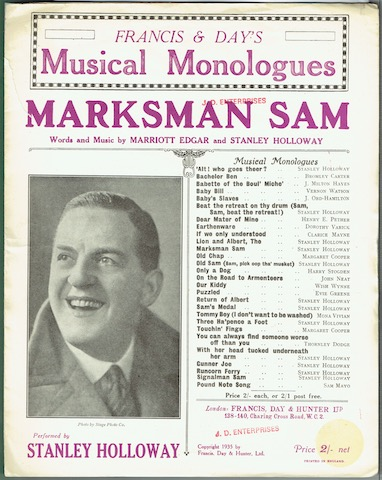 Image for Marksman Sam