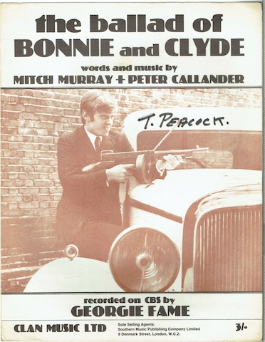 Image for The Ballad Of Bonny And Clyde: Recorded By Georgie Fame