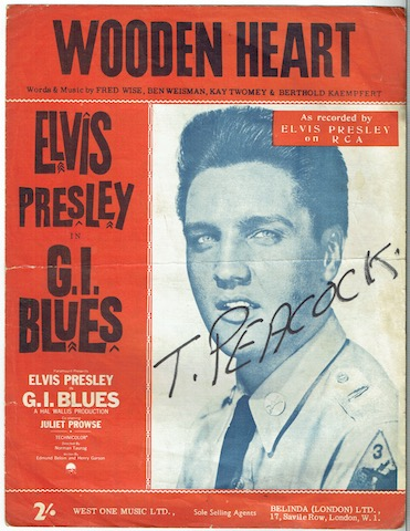 Image for Wooden Heart: As Recorded By Elvis Presley