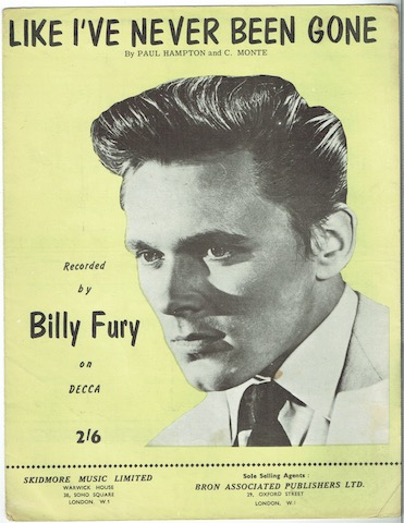 Image for Like I've Never Been Gone: Recorded By Billy Fury