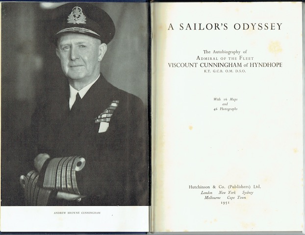 Image for A Sailor's Odyssey
