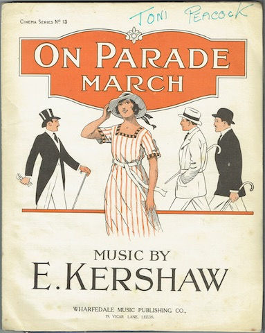 Image for On Parade: March (arranged for Piano and Violin)