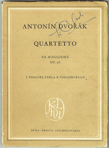 Image for Quartetto Fa Maggiore, Quartet F Major, Op. 96.