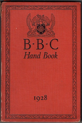 Image for BBC Hand Book 1928
