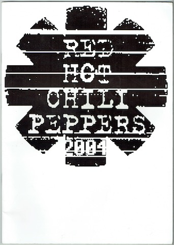 Image for Red Hot Chili Peppers 2004: Photographic Tour Album