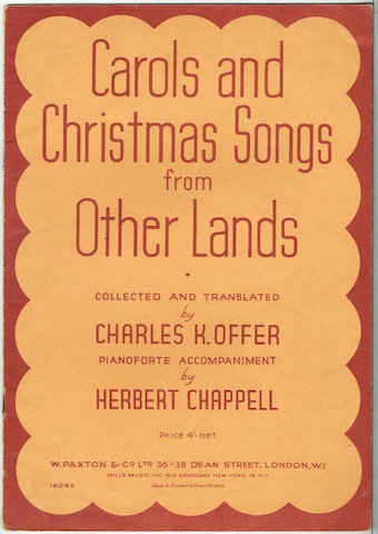 Image for Carols And Christmas Songs From Other Lands