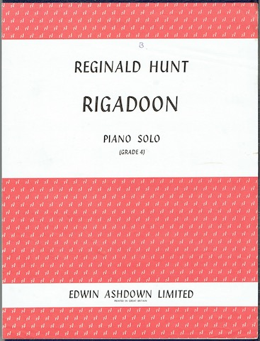 Image for Rigadoon: Piano Solo (Grade 4)