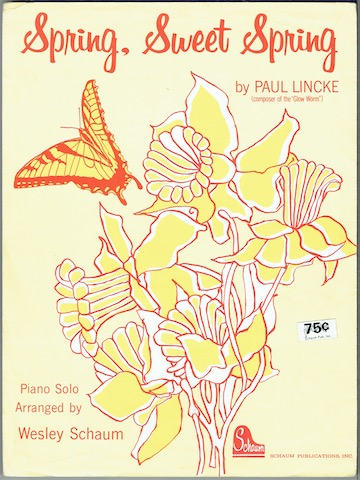 Image for Spring, Sweet Spring: Piano Solo