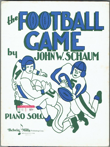 Image for The Football Game: Piano Solo