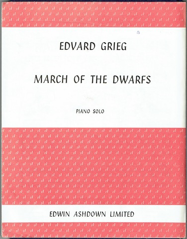Image for March Of The Dwarfs: Piano Solo