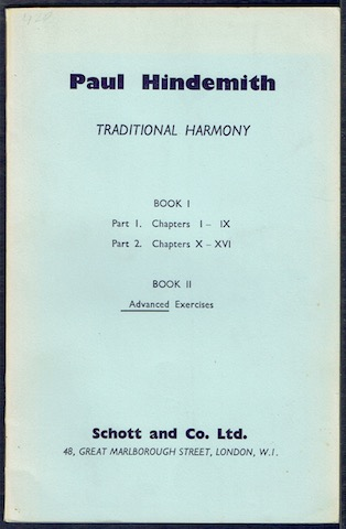 Image for A Concentrated Course In Traditional Harmony. Book II: Exercises For Advanced Students