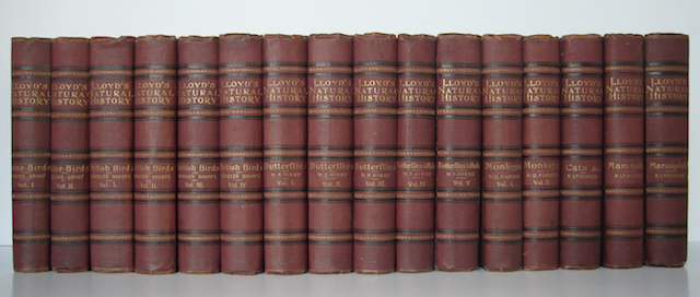 Image for Lloyd's Natural History: Complete In 16 Volumes