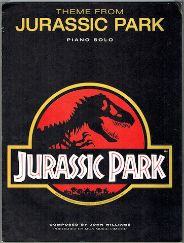 Image for Theme From Jurassic Park: Piano Solo