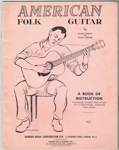Image for American Folk Guitar: A Book Of Instruction Including Chords And Lyrics Of 15 Traditional American Folk Songs