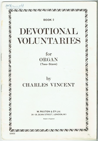 Image for Devotional Voluntaries For Organ (Two-Stave). Book 2