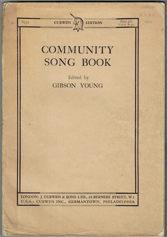 Image for Community Song Book (Curwen Edition 6331)