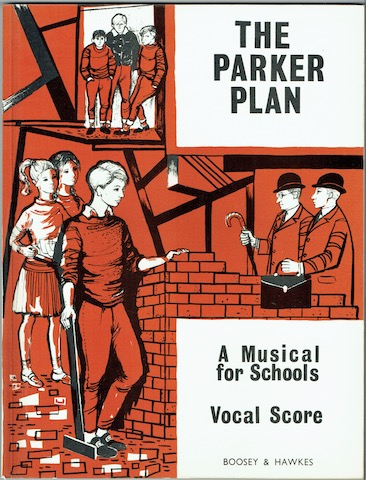 Image for The Parker Plan: A Musical For Schools. Vocal Score