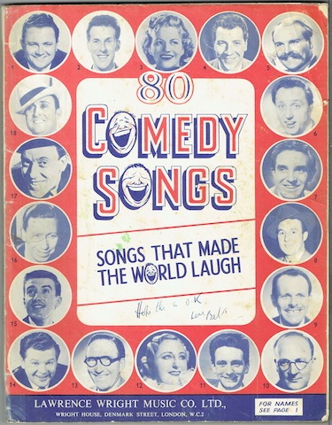 Image for Lawrence Wright's 80 Comedy Songs: Songs That Made The World Laugh