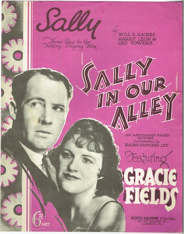 Image for Sally: Theme Song To The Talking-Singing Film 'Sally In Our Alley'
