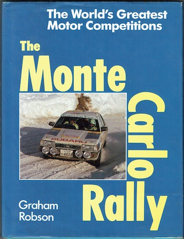 Image for The Monte Carlo Rally (The World's Greatest Motor Competitions)