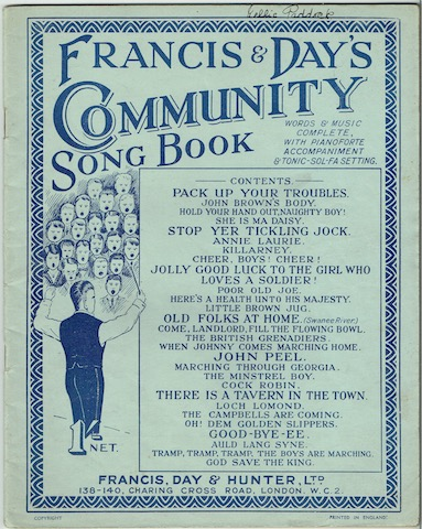 Image for Francis & Day's Community Song Book