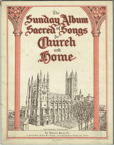 Image for The Sunday Album Of Sacred Songs For Church And Home