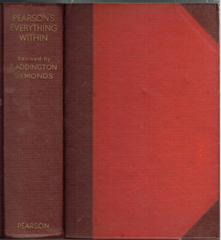 Image for Pearson's Everything Within: A Library of Up-to-date and Authoritative Information on Every Aspect of Home and Family Life