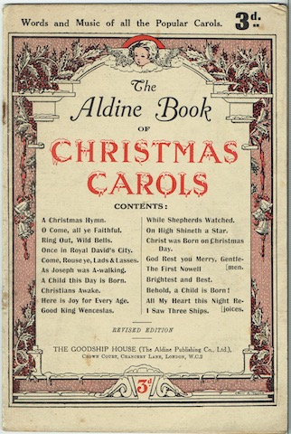 Image for The Aldine Book Of Christmas Carols