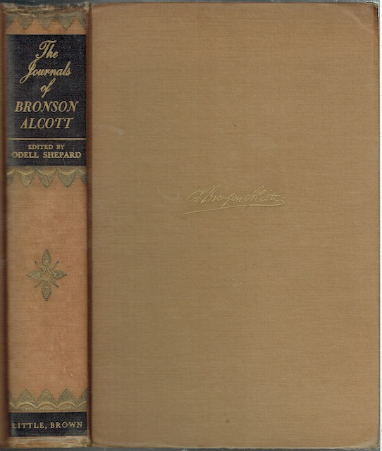 Image for The Journals Of Bronson Alcott