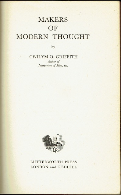 Image for Makers Of Modern Thought