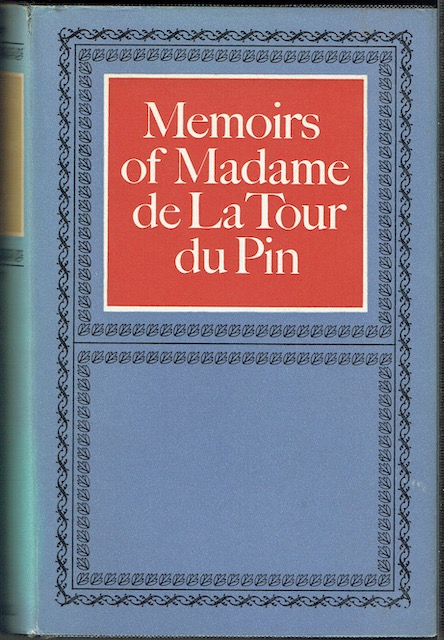 Image for Memoirs Of Madame de La Tour du Pin