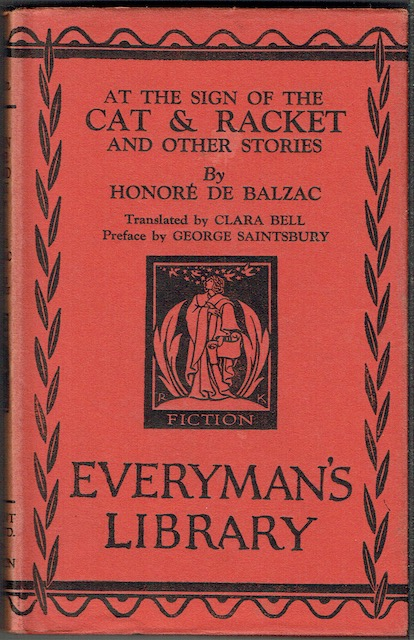 Image for At The Sign Of The Cat & Racket, And Other Stories (everyman's Library 349)