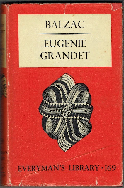 Image for Eugenie Grandet (Everyman's Library 169)