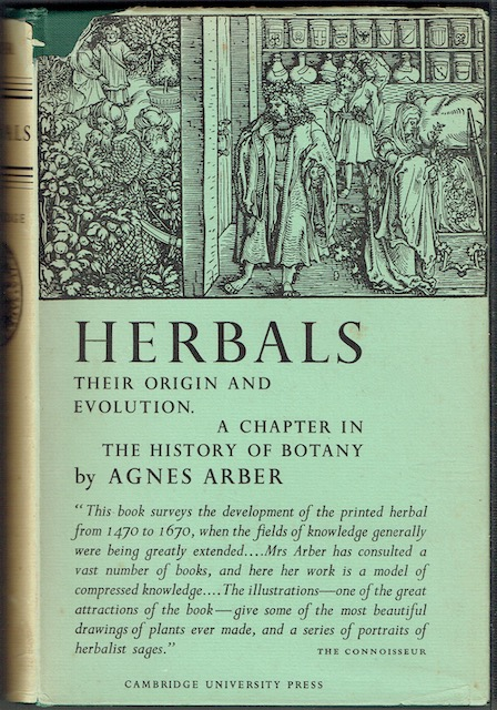 Image for Herbals: Their Origin And Evolution; A Chapter In The History Of Botany 1470-1670