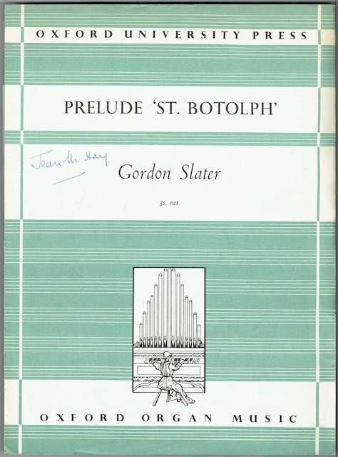 Image for Prelude 'St. Botolph'