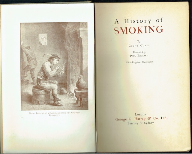 Image for A History Of Smoking