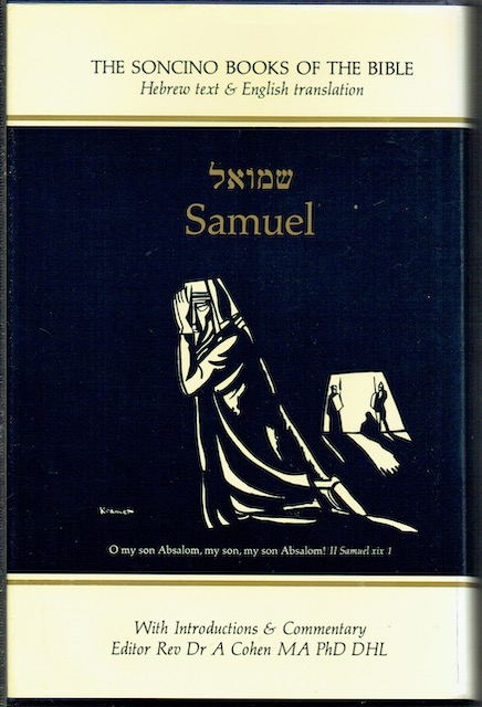 Image for Samuel (The Soncino Books Of The Bible)